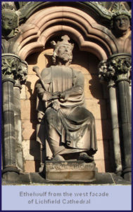Aethelwulf Birth King Of Wessex 839-861, Kent 839-858